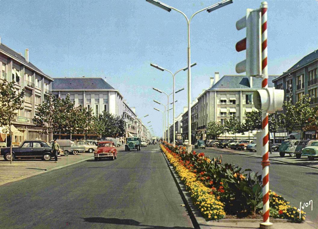 Les années 1950 : une ville qui roule