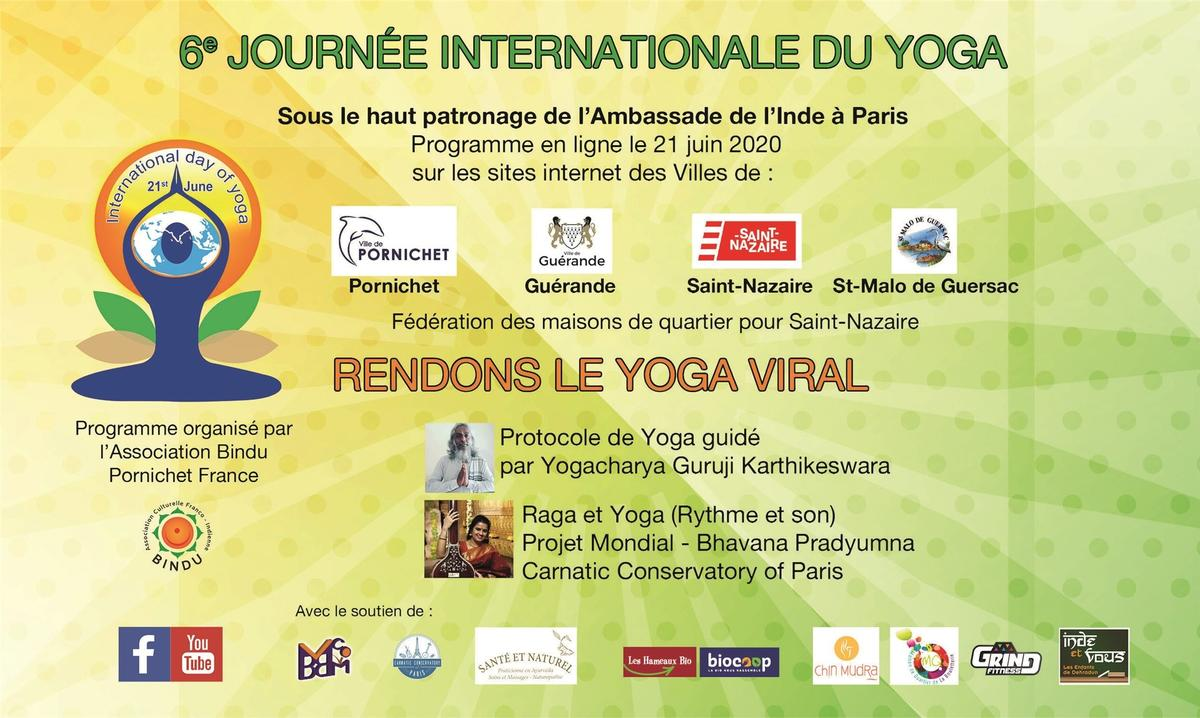Journée Internationale du Yoga 2020