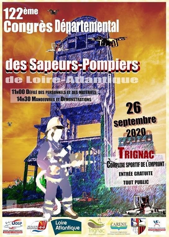 Congrès départemental sapeurs-pompiers de Loire-Atlantique