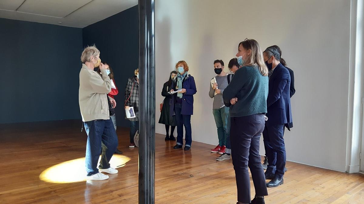 Visite de l'exposition «Chroniques de l'invisible»