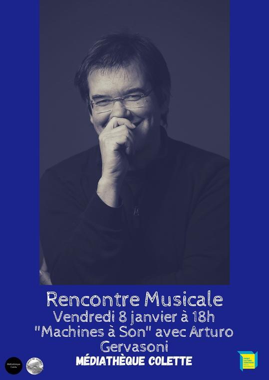 Rencontre Musicale «Machines à son»