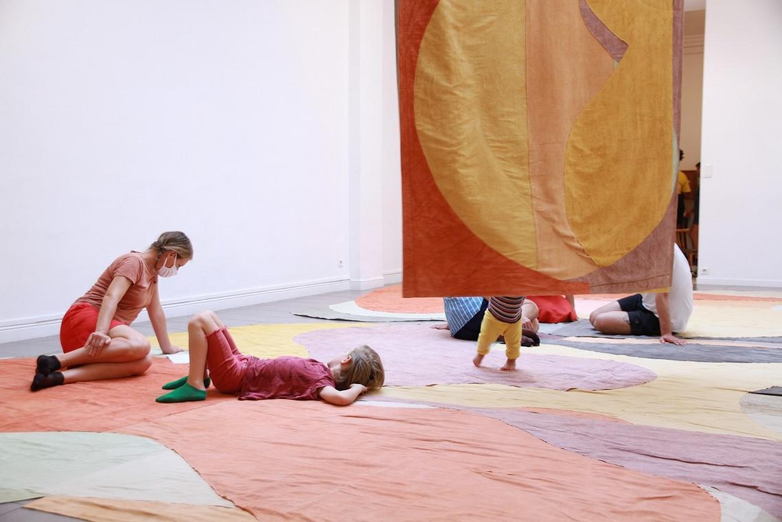 Adrien Vescovi, Slow Down Abstraction I, II et III, 2019.