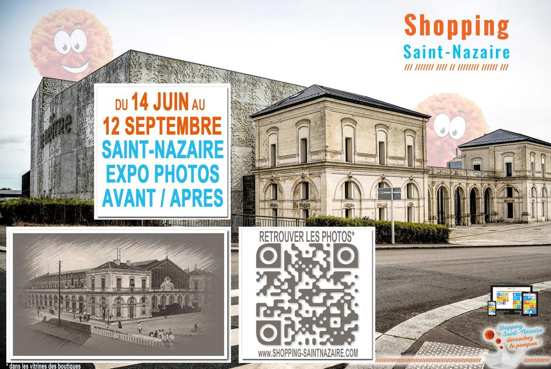 Expo photos Saint-Nazaire Avant/Après