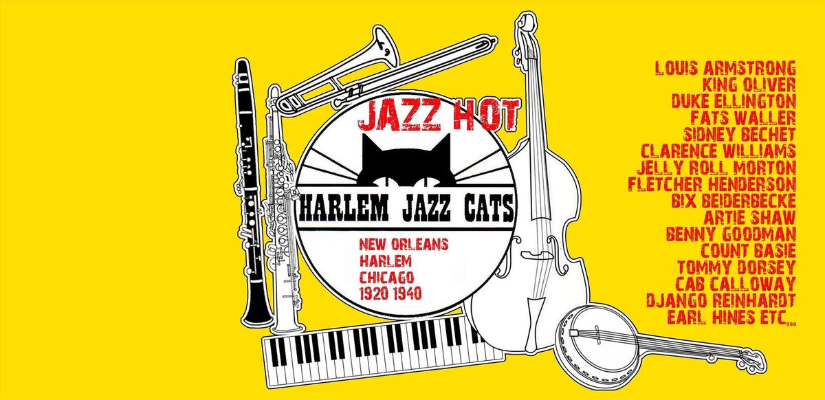 Harlem Jazz cat