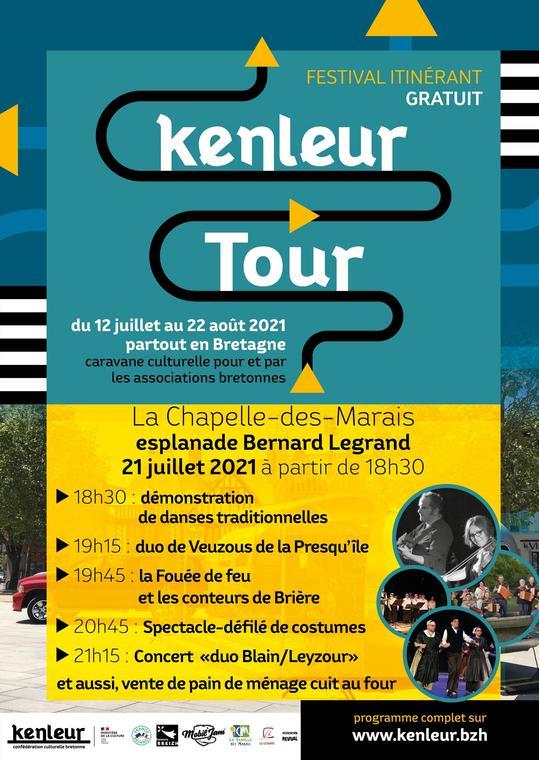 Kenleur Tour à La Chapelle-des-Marais
