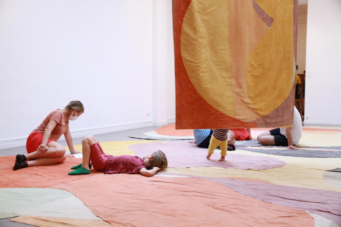 Adrien Vescovi, Slow Down Abstraction I, II et III, 2019