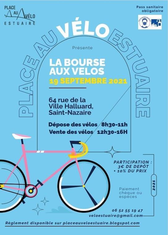 affiche Bourse aux Vélo