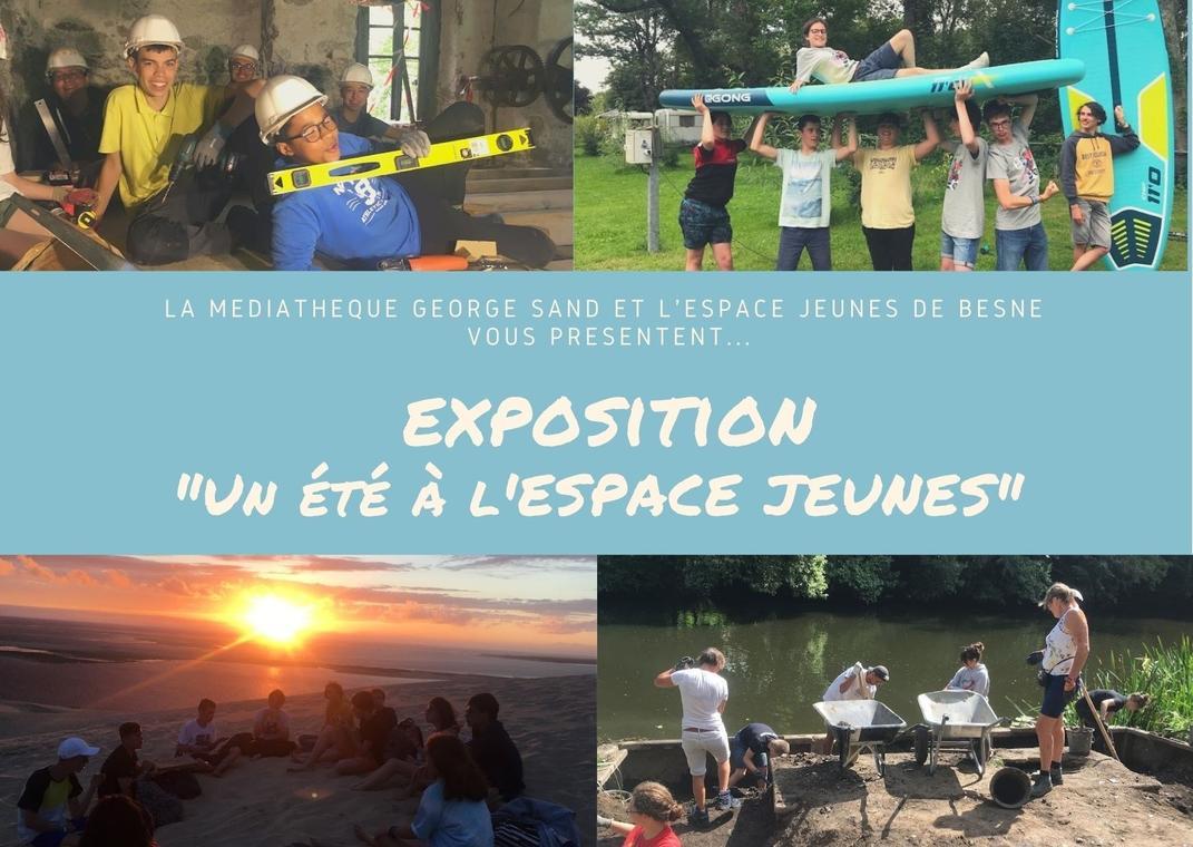 Exposition Un été à l'Espace jeunes
