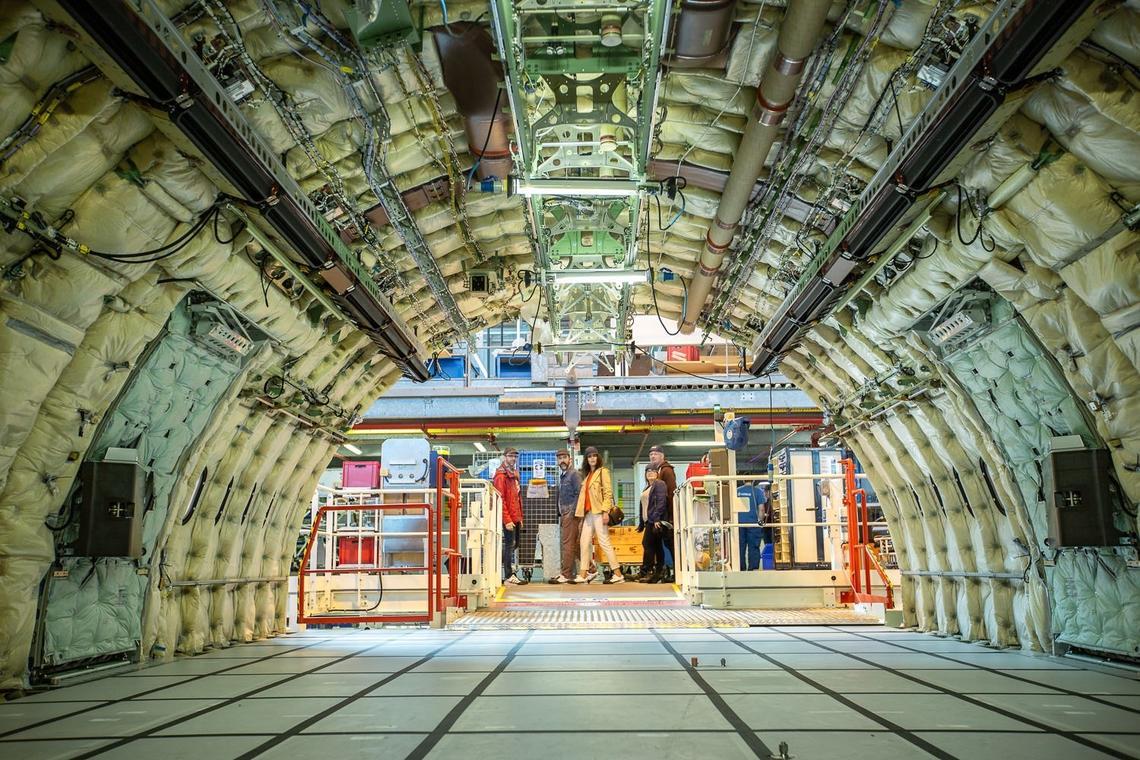 Au cœur des ateliers d'Airbus