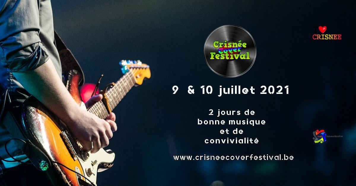 Crisnée Cover Festival 2021 - Affiche