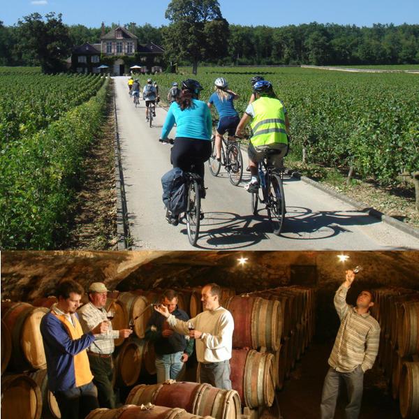 vélo et vins en Bourgogne