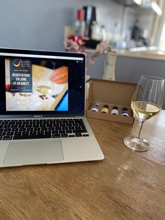 Cours de en ligne vins de Bourgogne