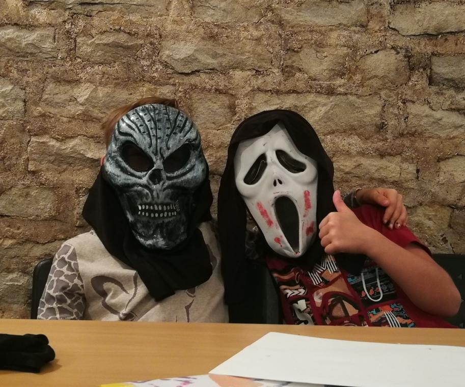 Halloween visite atelier musée de Beaune 1