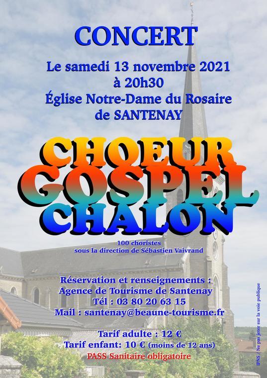Santenay Choeur Gospel Chalon 13.10.2021