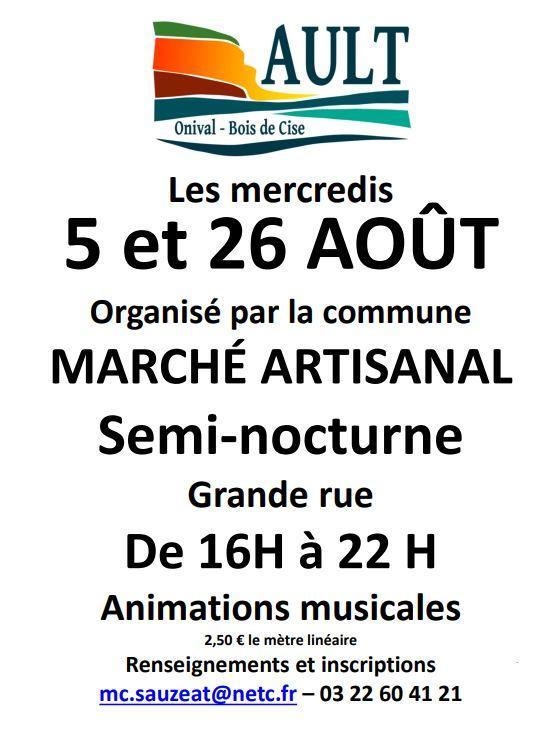 082620 - AULT - Marché artisanal semi-nocturne
