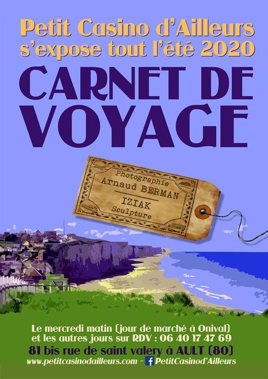 083120 - AULT - Exposition Carnet de voyage