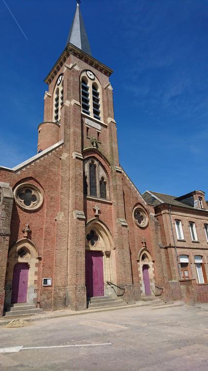 Dargnies église