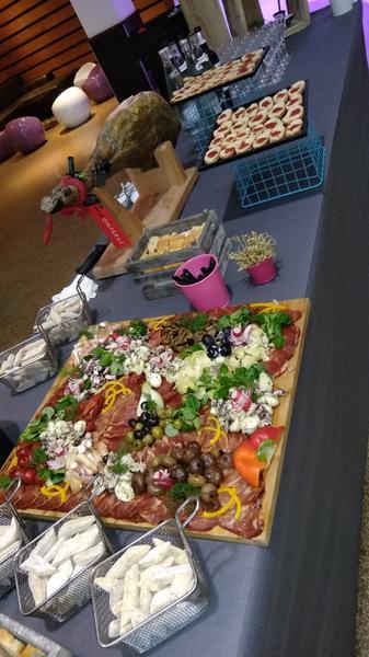 Un buffet charcutier