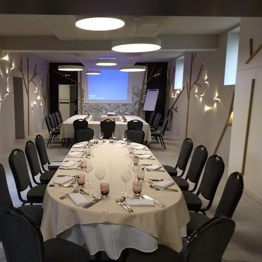 """Le restaurant """"La Virgule"""" à Chaban de Chauray"""