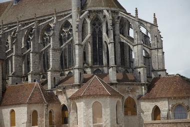 Eglise Saint-Pierre à Chartres - Chevet