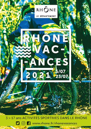Affiche Rhône Vacances