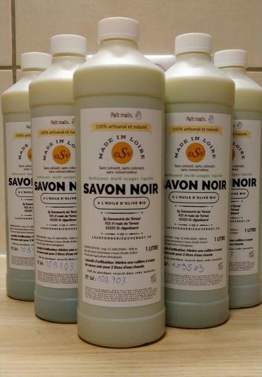 le savon noir 100% huile d'Olive bio.
