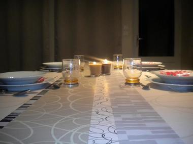 Table - Gite la ville es olive