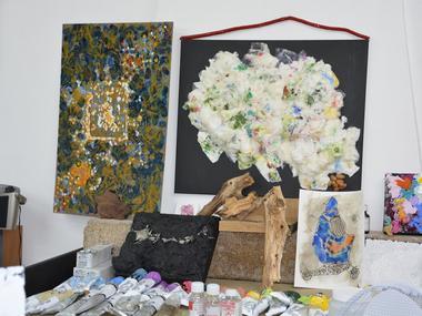 Atelier Claudette Leet - Artiste peintre - Josselin - Morbihan - Bretagne