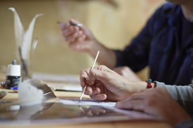 Atelier-enluminure-prieure_stetienne - Guer - Brocéliande
