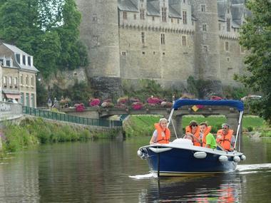 Ti War An Dour - Bateaux électriques - Josselin - Morbihan - Bretagne