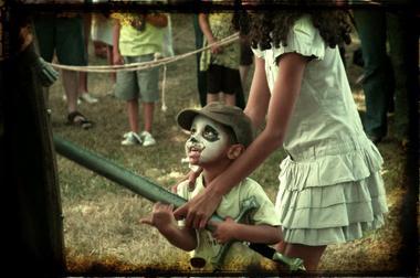 Camp du dragon enfant