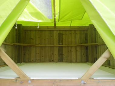 Campétoile - Hébergements insolites - Camping des Cerisiers - Guillac