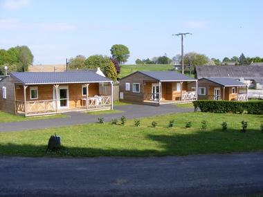 Camping Sérent 3 chalets - Morbihan - Bretagne