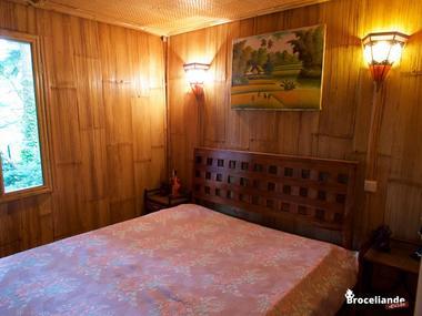 Cabane Bambou-9 Camping d'Aleth St-Malo de Beignon Brocéliande