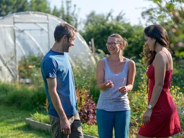 Des heures dehors - découverte fleurs comestibles - Ploërmel - Brocéliande