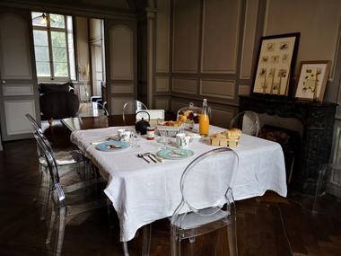 Domaine des Longrais_St Thurial_salon