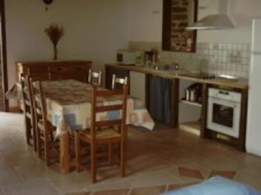 Gîte Racouët pièce à vivre - Pleucadeuc - Morbihan - Bretagne