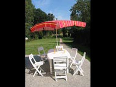 Gîte Rand'eau pour tous terrasse - St Congard - Morbihan - Bretagne