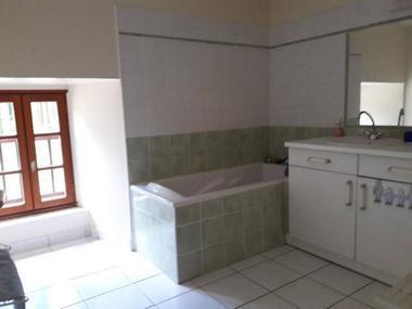 Gîte de la Haute Fenderie_Paimpont_salle de bain