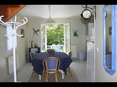 Gîte la Passagère cuisine et terrasse - Caro - Morbihan - Bretagne