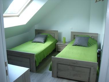 Gîtes de l'Oust T3 chambre twin - Saint-Marcel