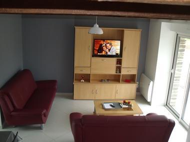 Gîtes de l'Oust T3 salon - Saint-Marcel