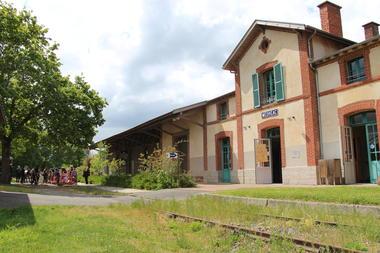 Gare vélo-rail de Médréac
