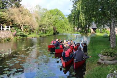 Visite guidée en canoë-kayak Montfort-sur-Meu