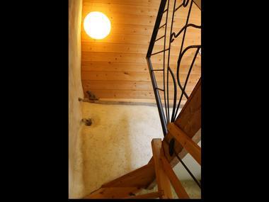La Chelidoine escalier