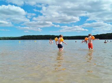 Lac de Trémelin Iffendic Brocéliande Bretagne accrobranche pédaleau ©office de tourisme Lac de Trémelin (11)