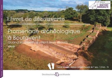 Livret de découverte - Promenade archéologique à Boutavent