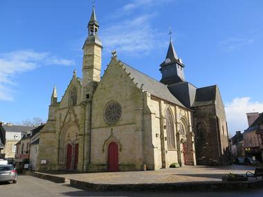 Malestroit église St Gilles