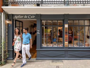 Atelier Mélisande - Artisans d'art - Cuir - Josselin - Morbihan - Bretagne