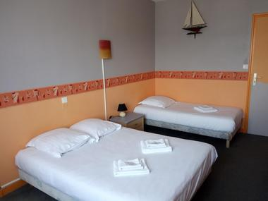 hôtel - le ludixarium - chambre triple - Ploërmel - Morbihan